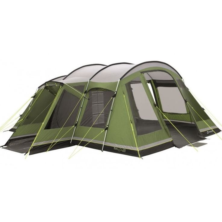 Outwell Montana 6 tent  De Outwell Montana 6 is een tent uit de Deluxe serie van Outwell. De tent is geschikt voor 6 personen en heeft twee slaapcabines en een leefruimte. Dankzij de speciaal gevormde tentstokken is de voortent zeer hoog en ruim. Het handige zijportaal beschermt de tent tegen inregenen en het uitneembare grondzeiltje hierin maakt het de ideale opbergplaats voor bijvoorbeeld vieze schoenen. De slaapcabines zijn extra hoog en ruim zijn voorzien van verduisterende plafonds een…