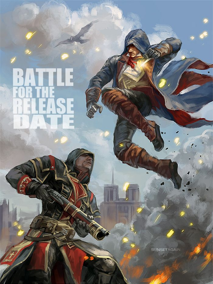 Battle for the release date by sunsetagain.deviantart.com on @DeviantArt