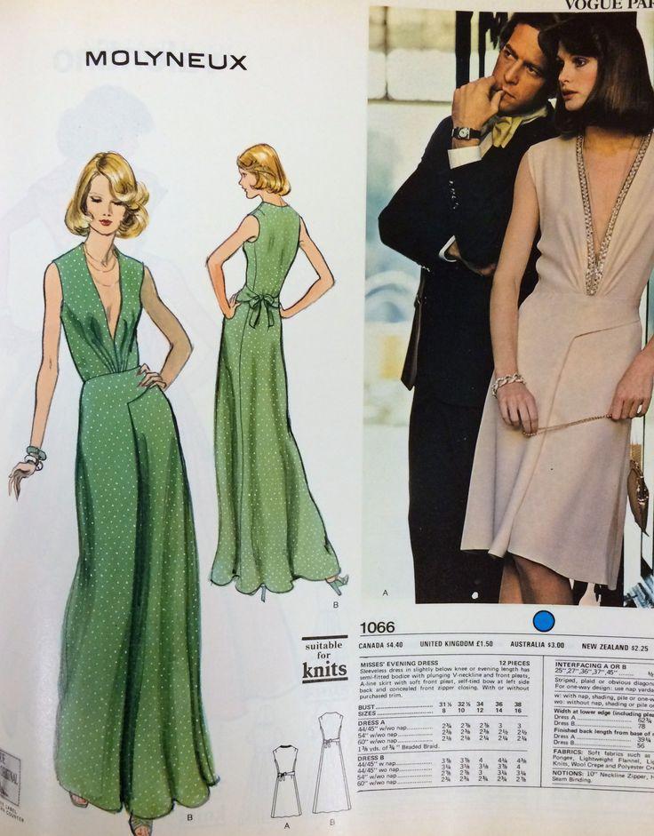 The 245 best VOGUE Patterns images on Pinterest | Fashion patterns ...