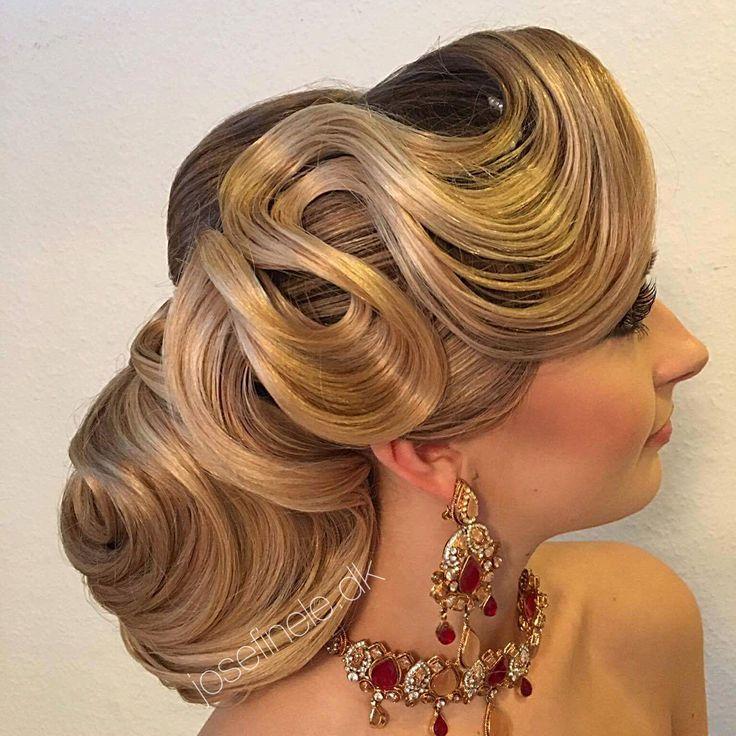 Wedding hairstyle ️ Coafuri, Coafuri nuntă, Coafuri elegante