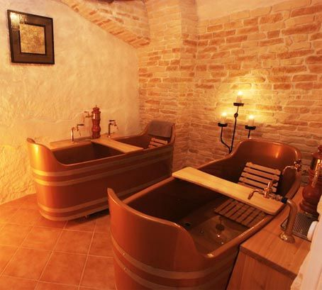 A beer spa in Prague. Al would love this, and I want to go to Prague.