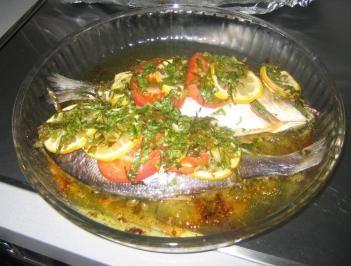 Das perfekte Dorade aus dem Ofen - (türkisch) Çipura buğulama-Rezept mit einfacher Schritt-für-Schritt-Anleitung: Fische sollten vom Fischer schon…