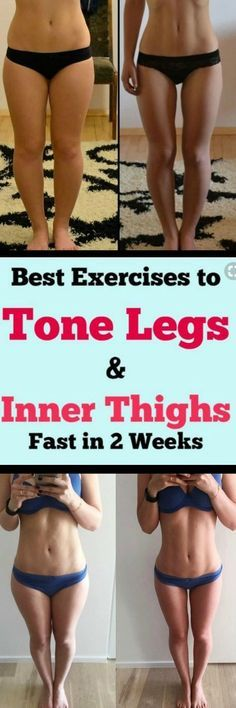 Best Exercises To Tone Legs & Inner Thighs Fast In 2 Weeks