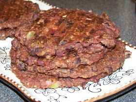 I had a can of adzuki beans I wanted to use so I came up with this burger recipe.  The adzuki bean is a small red bean and is cultiva...