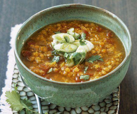 Rezept: Suppe aus roten Linsen