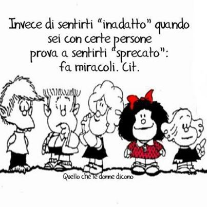 Mafalda: autostima