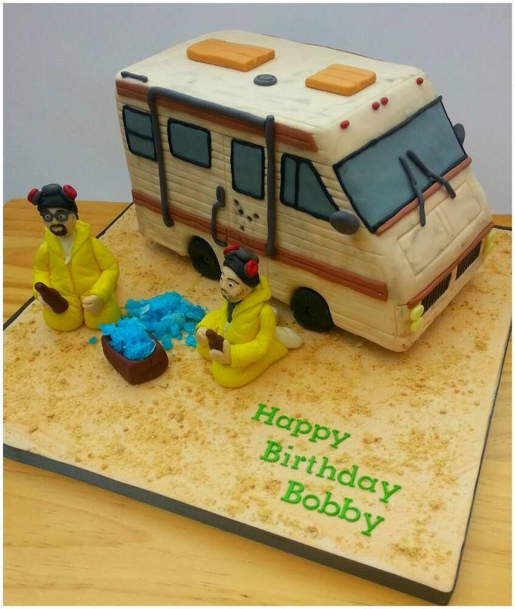 Epic Breaking Bad Birthday Cake is Huge Hit