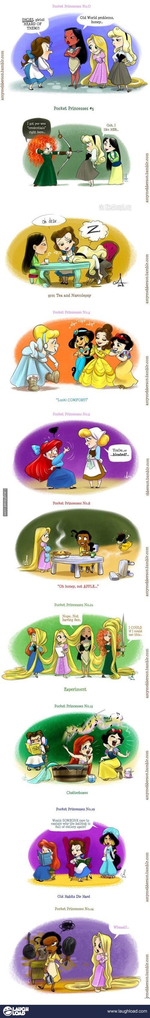 cute Disney Princesses