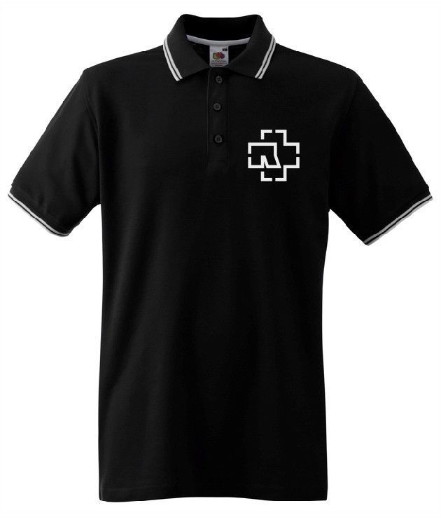 aa28a9d5 Rammstein - Eagle POLO T-SHIRT BLACK FRUIT OF THE LOOM #fashion #clothing # shoes #accessories #mensclothing #shirts (ebay link)