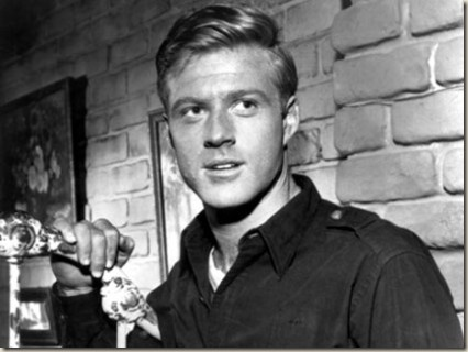 young Robert Redford as Mr. Death from The Twilight Zone  I still feel like the movie MEET JOE BLACK would have been tons better with Mr. Redford instead of Mr. Pitt!