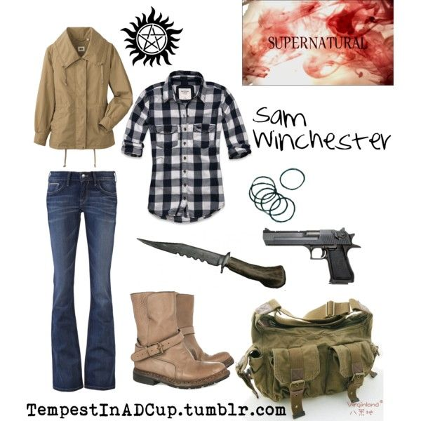 Sam Winchester inspired outfit. I could totally still fit right in. Oh Alaska
