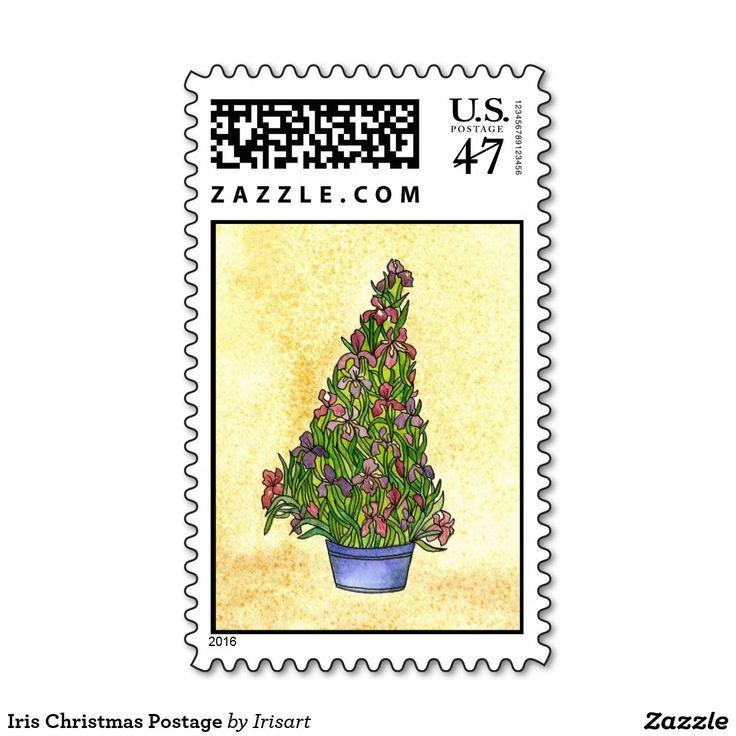 Iris Christmas Postage