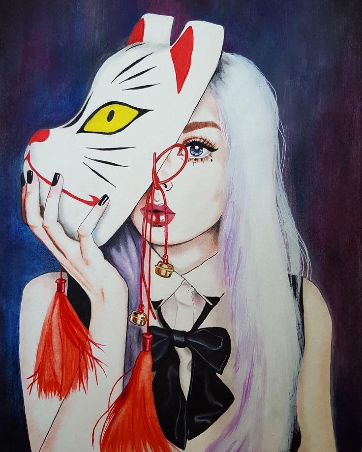 Kitsune girl | Harumi Hironaka
