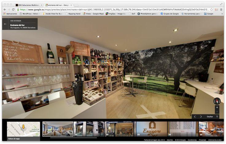 Ejemplo de Visita virtual de Google Maps Business View            Con cada visita virtual de Google Fotos de Negocios tiene incluida un sesión de fotos profesional con instantaneas de los puntos mas interesantes de su negocio que usted podrá utilizar libremente en su página web, en sus publicaciones y catálogos.    Las visitas