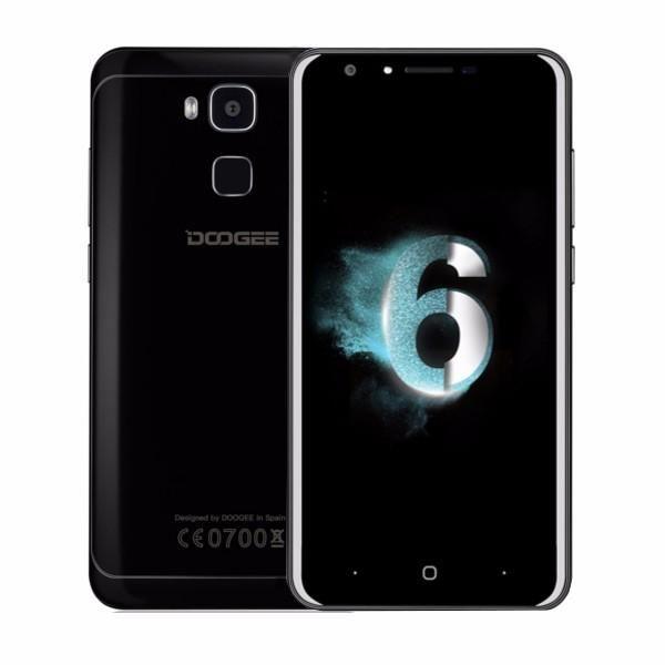 DOOGEE Y6 Piano Black 5.5 Inch Fingerprint 4GB RAM 64GB ROM MTK6750 Octa Core 1….