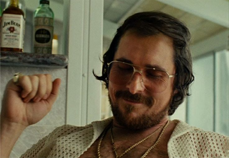 Christian Bale American Hustle God, I love this man