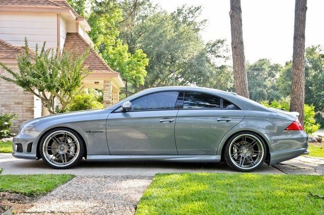 Mercedes Benz Cls55 Amg W219 Mercedes Benz Cls Mercedes Cls