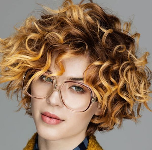 Best Short Curly Formal Hairstyles 2017-2018
