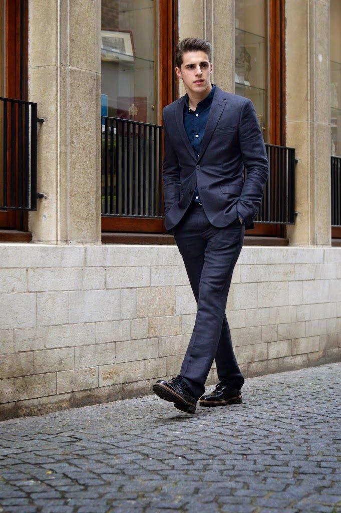 Men brogue shoes worn by MattG Style - Brogues veterschoenen voor mannen gedragen door MattG Style