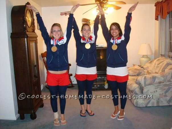 Coolest 1996 Women\u0027s Olympic Gymnasts Group Costume. Group CostumesWinter