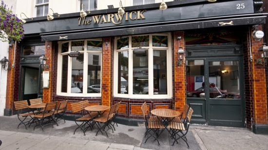 The Warwick in Pimlico, Greater London
