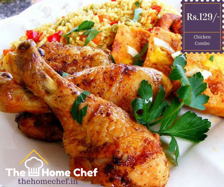 Treat Yourself today by having delicious #Chicken #Combo.Order here www.thehomechef.in #ChickenLovers #IndianFood #Foodies #OrderFoodOnline #TheHomeChefIndia