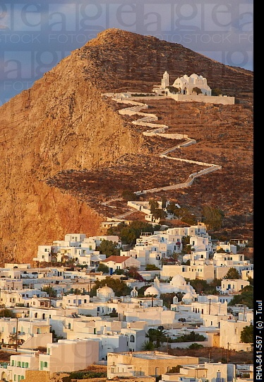 Folegandros, Cyclades Islands, Greek Islands © Tuul/ Robert Harding Picture Library
