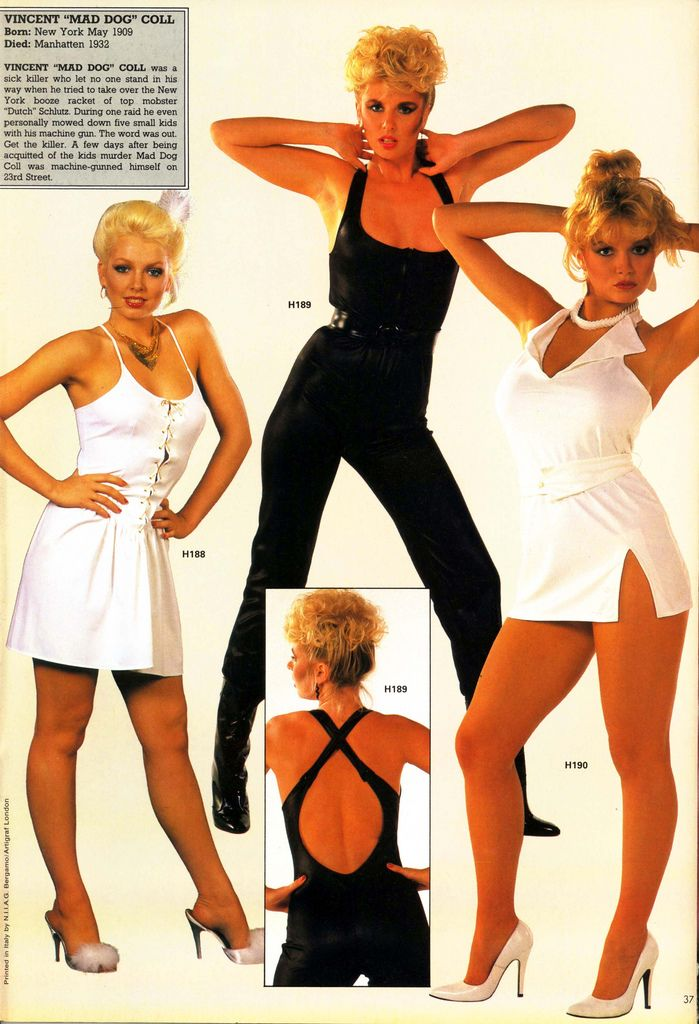 1980s fashions | Retrospace: Mini Skirt Monday #120: 1980s Fashion Mags