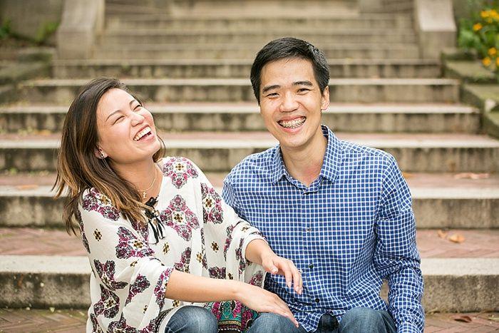 Arisa & Dickson's Surprise Proposal at Meridian Hill Park, Washington DC | Capitol Romance ~ Practical & Local DC Area Weddings