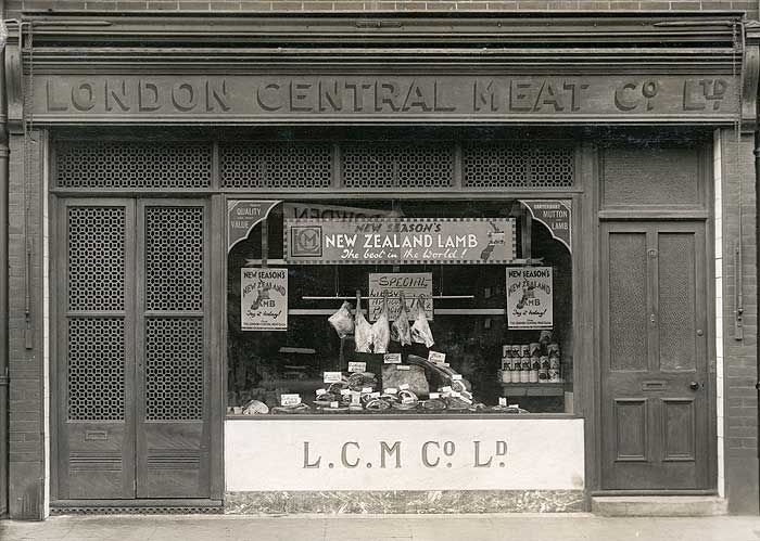 London Central Meat Co Ltd - top blocked font is cool.