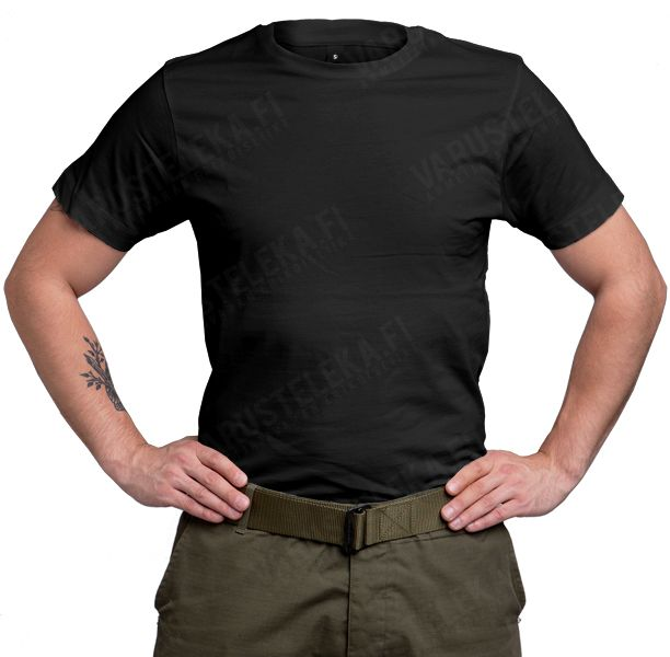 Continental T-paita, musta