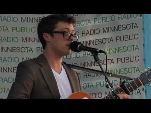 """Jeremy Messersmith - """"A Girl, a Boy, and a Graveyard"""" (Live on 89.3 The Current)"""