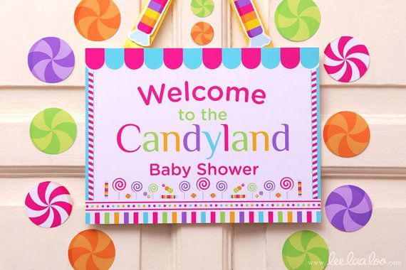candyland baby shower theme baby shower