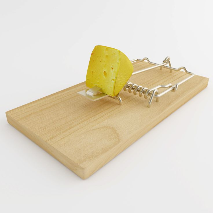 This Mousetrap With Cheese is a high quality, photo real 3D modelcontaining textures and materials.