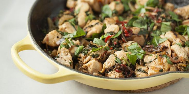 Chicken stir-fry  Trying to mix up how You cook your chicken so you don't get bored, this is a great recipe!