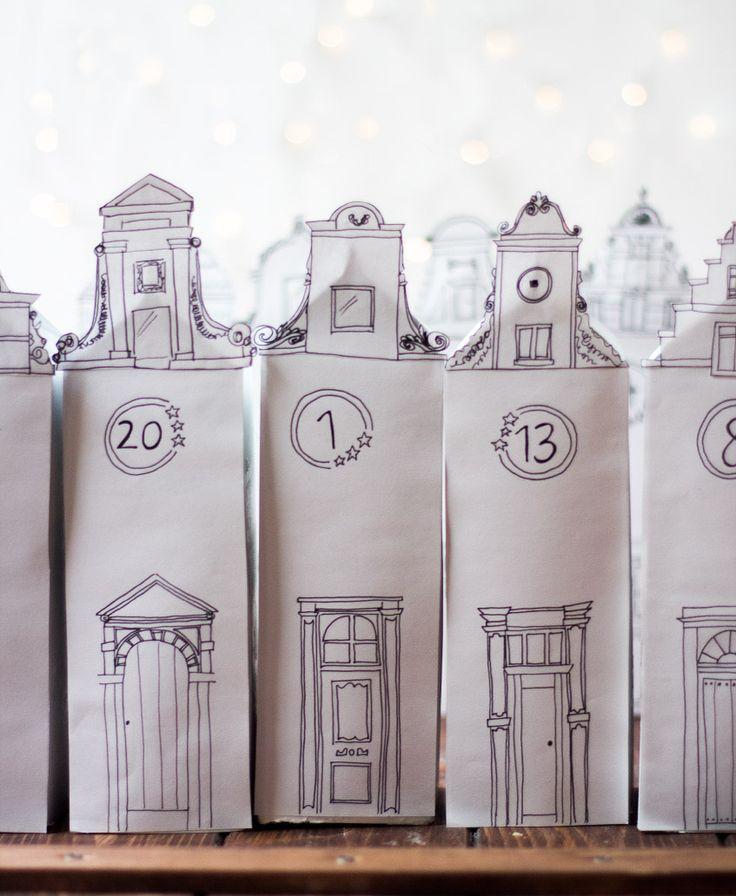Weihnachtsstadt - Adventskalender