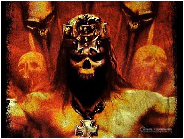 King Of Kings Motorhead Rey De Reyes Piercing Tatuaje Piercing