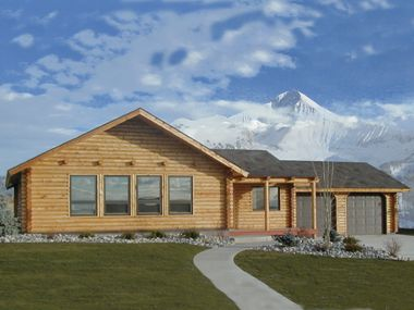 Summit - log home kit $24,000