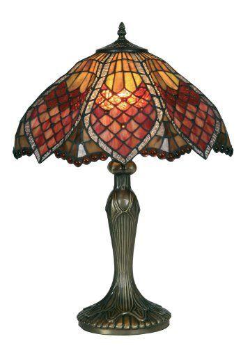 Orsino Tiffany Table Lamp from Oaks