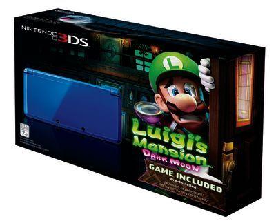 Luigi's Mansion Dark Moon Nintendo 3DS Bundle