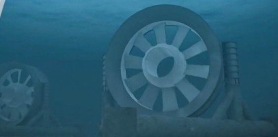 énergie éolienne fonctionnement | Éolienne + hydraulique = Hydrolienne !