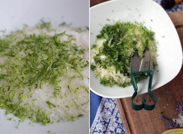 Limonen-Peeling-herstellen