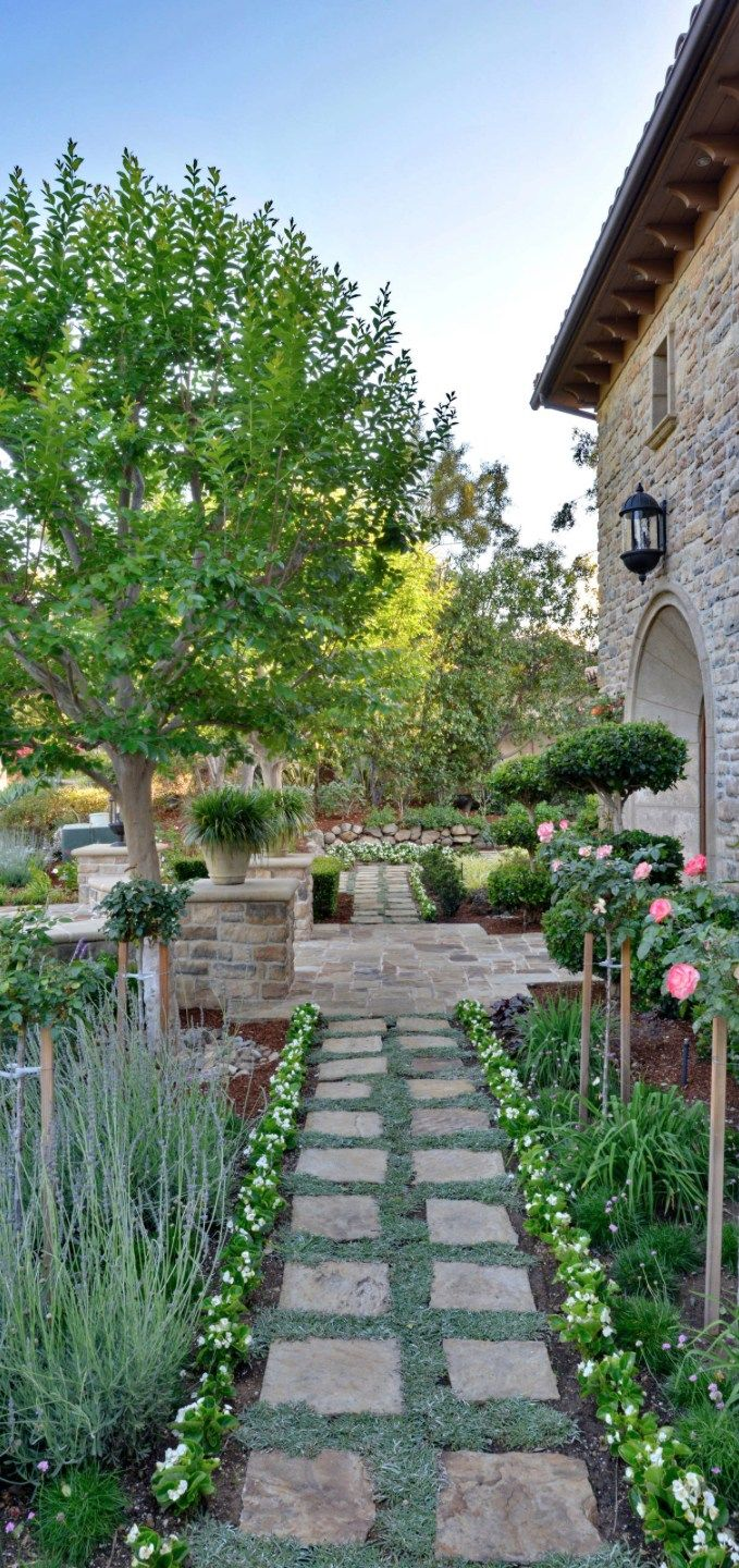10 Genius Designs Of How To Makeover Tuscan Garden Ideas In 2020 Tuscan Garden Tuscan Landscaping Italian Landscaping
