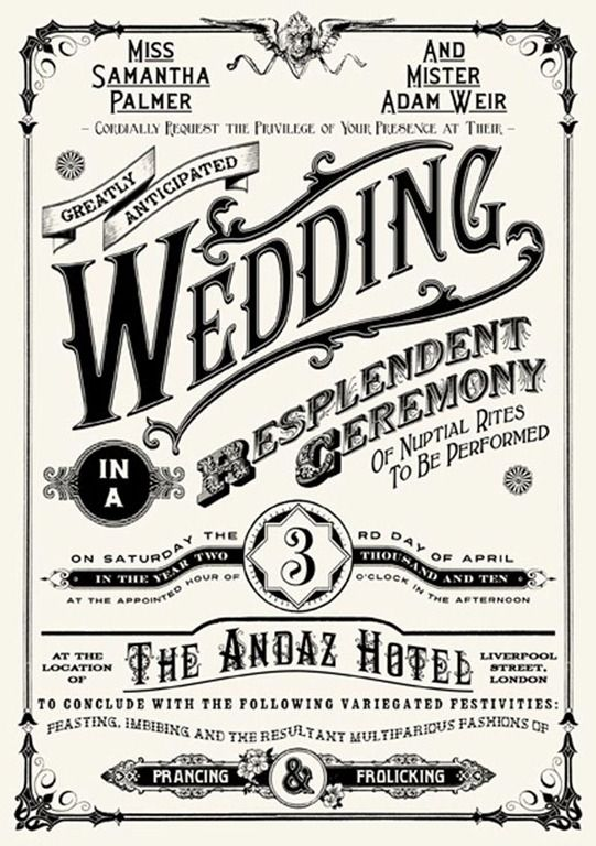 40 Very Creative Wedding Invitation Examples to Get Inspired for Couples