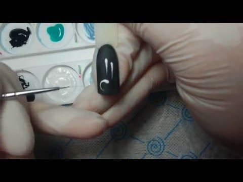 Рисуем вензеля пошагово - YouTube