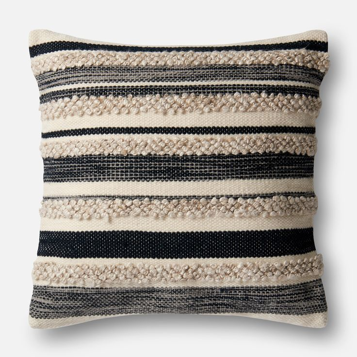 Magnolia Home Zander Charcoal Oversized Pillow