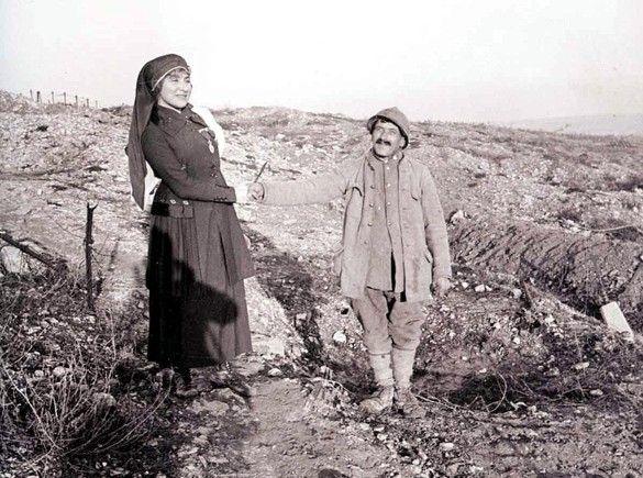 WWI -Une marraine de guerre, French war godmother
