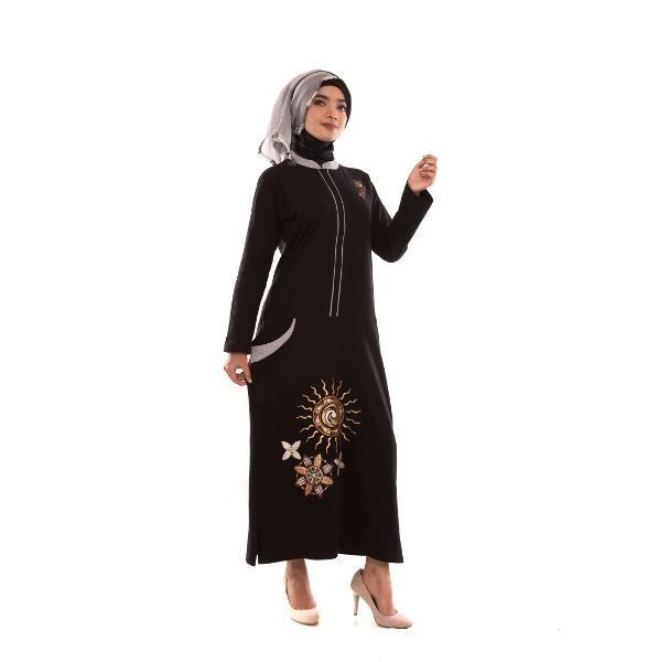 Jual Beli Gamis Wanita - Tunik Panjang - Busana Muslim Wanita DFG 13 Baru | Jual Beli Busana / Baju Muslim Wanita Murah
