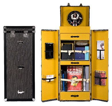 $150,000  I ask again, who needs a closet when you can have a trunk :)