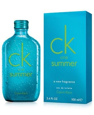 Fresh Summer scents! Eau the possibilities... Calvin Klein ck one Summer Eau de Parfum BUY NOW!